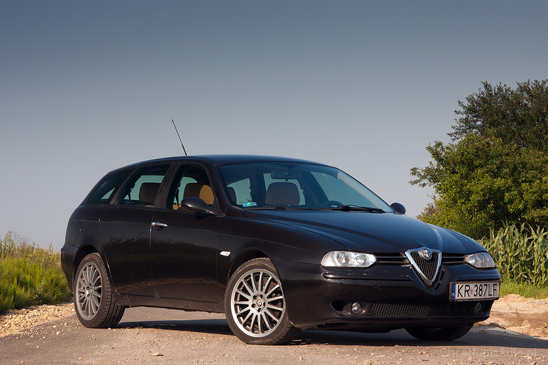 Alfa Romeo 156 Sportwagon 1.9 JTD 115 KM 2003 kombi skrzynia ręczna ...