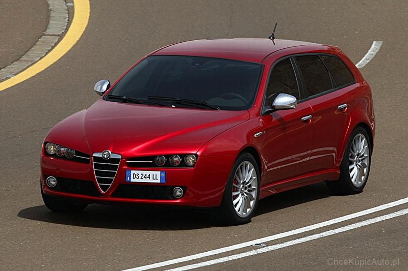 Alfa Romeo 159 Sportwagon 2.4 JTDm 200 KM 2005 kombi skrzynia ręczna ...