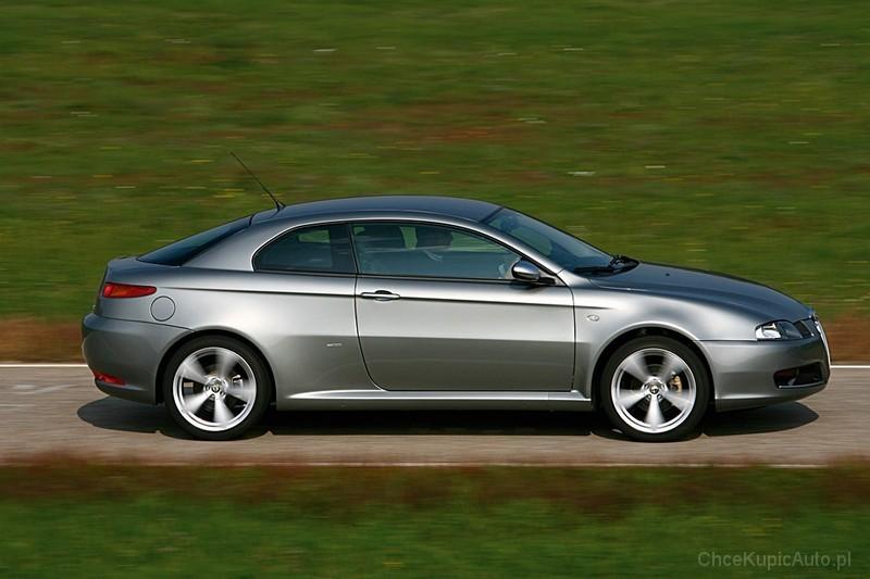 Alfa Romeo GT 2.0 JTS 165 KM 2004 coupe skrzynia automatyczna ...