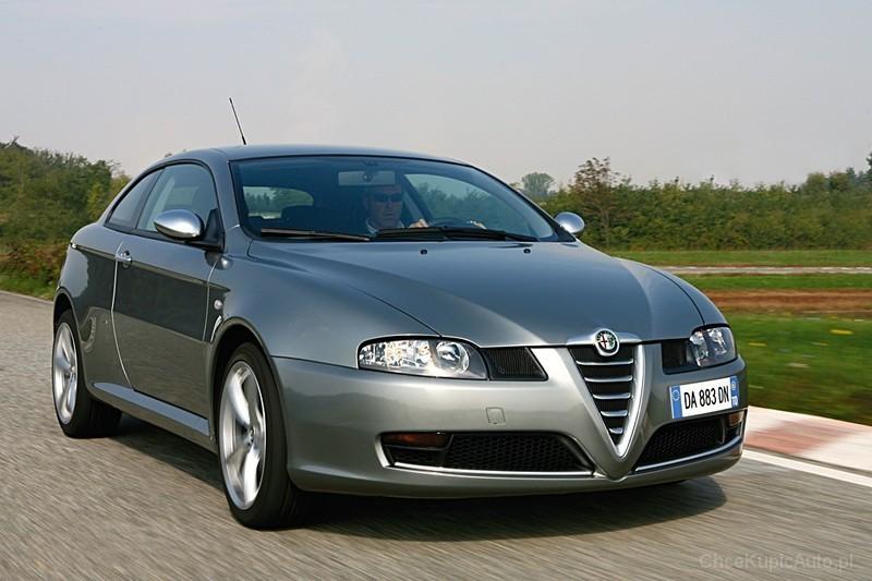 Alfa Romeo GT 2.0 JTS 165 KM 2007 coupe skrzynia ręczna napęd ...