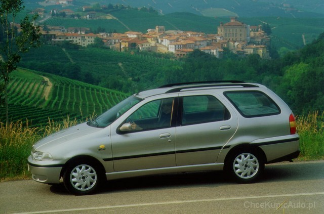 2002 Fiat Palio Weekend. Fiat Palio Weekend I 1.4 71 KM