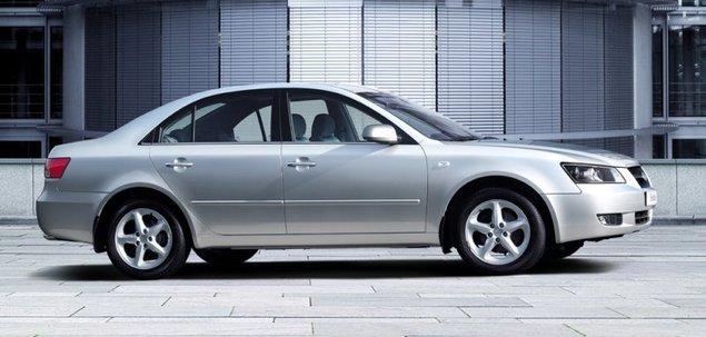 Hyundai Sonata IV 2.0 CRDi 151 KM 2009 sedan skrzynia ręczna naped ...