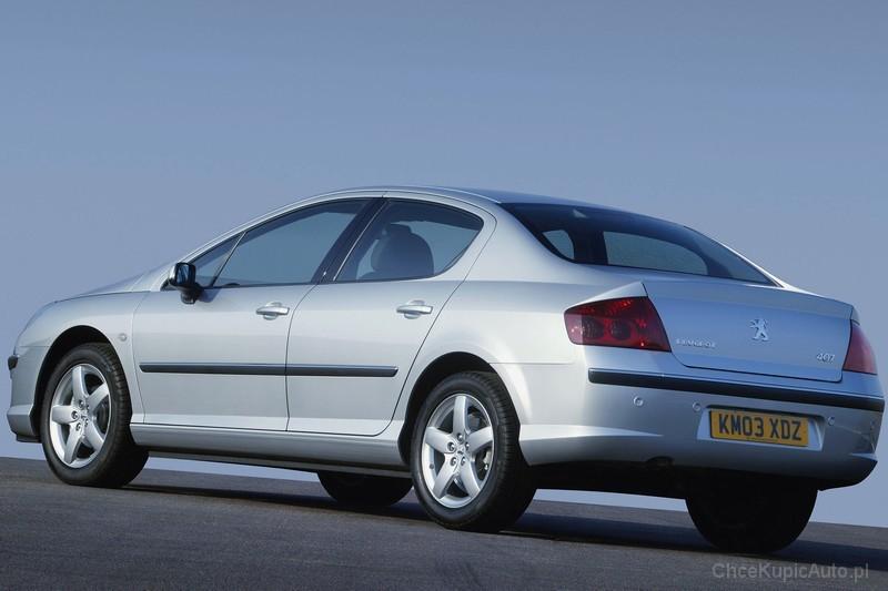 Peugeot 407 1.8 116 KM 2004 sedan skrzynia ręczna napęd przedni ...