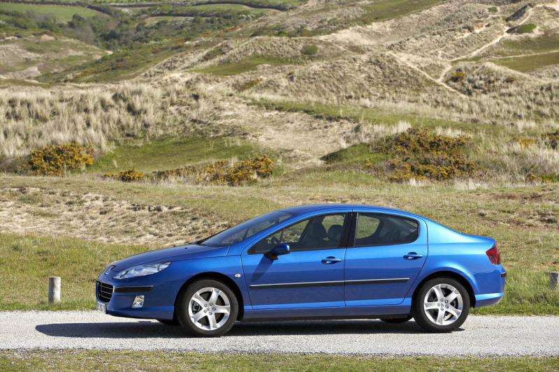 Peugeot 407 1.8 125 KM 2004 sedan skrzynia ręczna napęd przedni ...