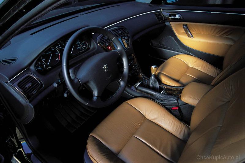 Peugeot 607 2.2 HDI 136 KM 2006 sedan skrzynia ręczna napęd przedni ...