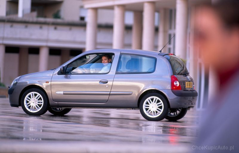Renault Clio II 1.5 dCi 65 KM 2002 hatchback 3dr skrzynia ręczna ...