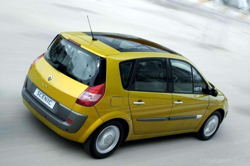 Renault Scenic II 1.6 115 KM 2003 VAN skrzynia ręczna napęd przedni ...