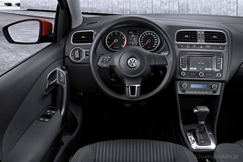 volkswagen polo v 1 2 60 km 2010 hatchback 5dr skrzynia. Black Bedroom Furniture Sets. Home Design Ideas